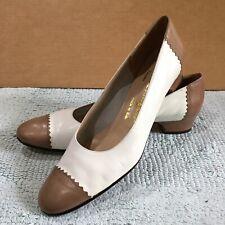 Vintage Salvatore Ferragamo Boutique Shoes 9.5 Aaa (lot 1)
