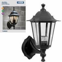 Black Panel Sided Victorian Lantern Traditional Path Outdoor Garden Patio Lights