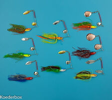 9 cm im Set 18 Gummifische–Shads–Schaufelfische-jigs ca