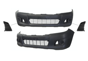 Front Bumper Bar Cover W/Inserts For Toyota Hilux TGN/KUN/GGN (2011 - 2015)