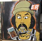 Cannabis Art Weed Painting Cheech Chong Dispensery 70s 80s Aaron White