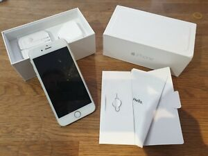 Apple iPhone 6 64GB Silver original Box & Manual Accessories & tool *Excellent*