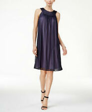 Jessica Howard Women's Embellished Shift Purple Dress