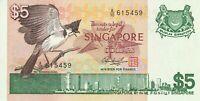 Vintage Banknote Singapore 1976 5 Dollars Pick 10 Choice UNC US Seller