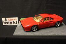 """Bburago Ferrari GTO 1984 1:18 red (FNB) """"tuning wheels"""""""