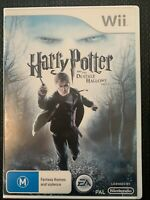 (Wii Game) Harry Potter And The Deathly Hallows: Part 1 / & / One (M) PAL