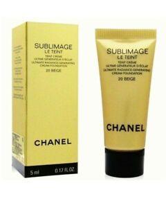 CHANEL Sublimage Le Teint Foundation Ultimate Radiance 20 Beige 5ml