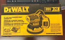 DeWalt 20V MAX XR 5 in Cordless Random Orbital Sander Kit 2.0Ah Battery DCW210D1