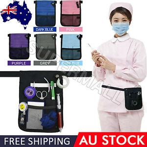 Nurse Pouch Extra Pocket Quick Pick Vet Agecare Bag with Belt Strap OZ