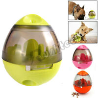 Automatic Pet Feeder Dog Cat Bowl Dispenser Tumbler Leak Food Interactive Ball