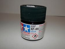 Tamiya Color Acrylic Paint Mini Rubber Black #XF-85 (10ml) NEW