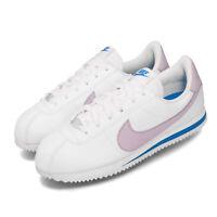 Nike Cortez Basic SL GS White Iced Lilac Purple Blue Kid Women Shoes 904764-108