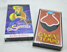 LOTE 2 CINTAS VHS: LA LEYENDA DE LA SIRENITA + GALICIA NO TEMPO NUEVOS