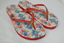 TORY BURCH shoes sandals flip flops red oasis