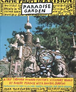 Howard Finster's 1996 Autographed Paradise Garden Book