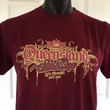 Queensland State of Origin Mens T Shirt Size S - Maroons QRL 2008 - Life Member