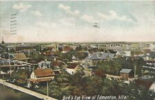 Edmonton Alberta Canada Bird's Eye View Postcard 1909