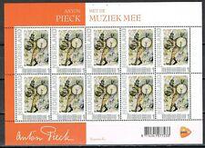 Nederland 2751-Af-9 2012 Anton Pieck, Nostalgie in postzegels, Met de muziek mee