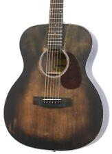 Aria 101Dp Delta Player Om Body Acoustic Guitar, Muddy Brown