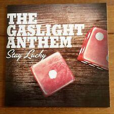 """The Gaslight Anthem - Stay Lucky 7"""" Black Vinyl"""
