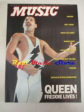 Rivista MUSIC 143-144/1992 Queen Neil Young Michael Jackson Robert Fripp No cd