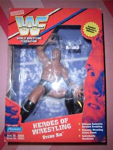 "WWF/WWE LJN HASBRO MIB 9"" SYCHO SID LIMITED COLLECTOR'S EDITION FIGURE"