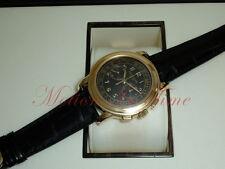 Patek Philippe 5070J Chronograph Yellow Gold w/ Black Dial Rare Discontinued