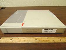 HP 70004A Display Operation Manual