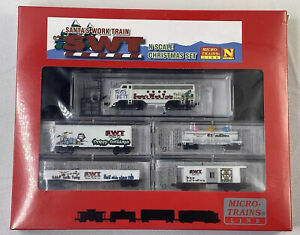 N Scale Microtrains Santa's Work Train Set 2007 MTL-SWT New Sealed -Elves Unite!