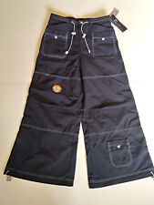 MACGIRL {Size 11} Junior's Navy Blue Wide Leg HOT TOPIC Hip Pop 1990's Pants NWT