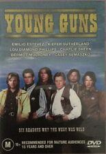 YOUNG GUNS - DVD - REGION 4