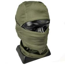 Mil-Tec Breathable Tactical Balaclava - Cover Neck Chin Mouth Nose Olive OD