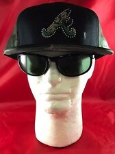 New Era 59Fifty MLB Atlanta Braves Blck & Camouflage A With Beads Arnd A FlatHat