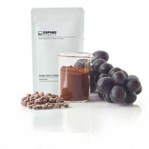 Comprimés de pépins de raisin 12000 mg antioxydant d'extrait de haute résistance