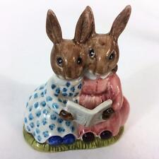 Bunnykins Royal Doulton Rabbit Storytime Figurine DB 9 Golden Jubilee 1984 LE