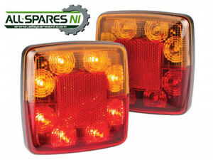 Compact Combination Lamp (Twin Pack) - 98BAR2