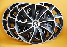 "15"" PEUGEOT 206,306,605,Partner... WHEEL TRIMS/COVERS HUB CAPS,Quantity 4"