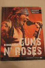 Legendy Muzyki Guns n' Roses DVD - POLISH RELEASE