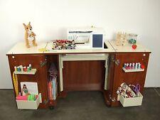 Kangaroo Bandicoot Teak Sewing Cabinet Table Lift Mechanism K8205 FREE CHAIR