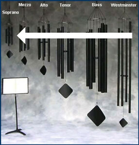 MUSIC OF THE SPHERES SOPRANO WIND CHIMES (choose your tuning!)
