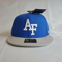 AF Falcons University Nike Baseball Cap HAT NWT Blue Gray Aeobill Dri Fit