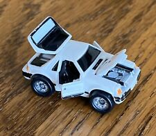 Vintage Micro Machines Ford Mustang SVO Deluxe 80s White