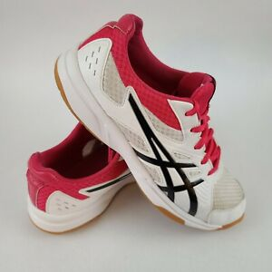 ASICS Upcourt 3 Women's White Pixel Athletic Shoes Pink 10.5 #1072A012