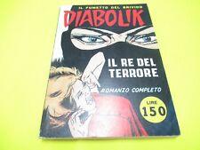 DIABOLIK N. # 1 RISTAMPA ANASTATICA ASTORINA 1994 NUOVISSIMO !!!