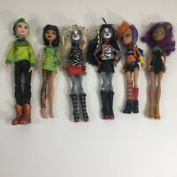 Lot of 6 Monster High Dolls Clothed ~ Couples and Sisters ~ Great condition!
