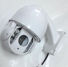 4MP IP PTZ 10X Zoom IR Dome Camera HD CMOS ONVIF 5-50mm 4inch Metal Dome