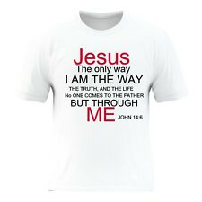 Jesus T Shirts Awesome Designed With Inspirational Bible Verses Unisex