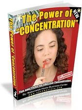 THE POWER OF CONCENTRATION PDF EBOOK FREE SHIPPING RESALE RIGHTS