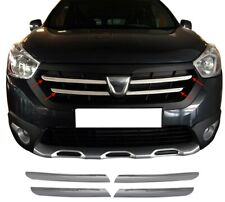 Dacia Lodgy Stepway 2015Up Chrome Front Grill 4Pcs S.Steel