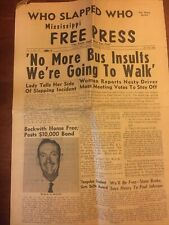 1964 Civil Rights in Mississippi Civil Rights newspaper, article by James Silver